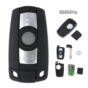868MHz 3 boutons Télécommande clé pour BMW X5 X6 CAS3 système Z4 1/3/5/7 série véhicule Smart Key KEY_10C