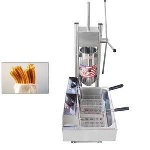NP-283 Commercial 5L Churros machine avec 12L friteuse électrique espagnol fabricant de churros populaire snack équipement churro faisant la machine