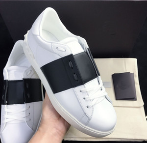 Mulheres Homens Weaving Leather Patchwork na moda Calçados Rebites Flats Shoes Studded Sports Skateboarding Ténis Conforto Casual Shoes