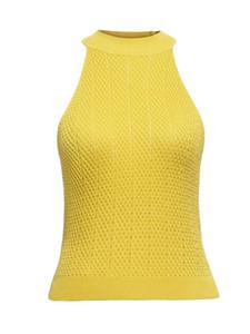 Débardeur sans bretelles Clocolor sans manches minces top Blouse chemise mode sexy chemise courte à licou chemise débardeur femme