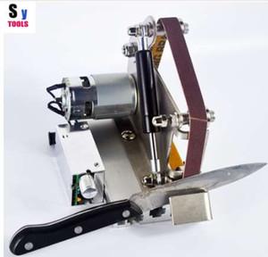 Sy инструменты профессиональная кухня открытый нож шлифовальные Apex точилка металла мини абразивные ленты машина заточки системы