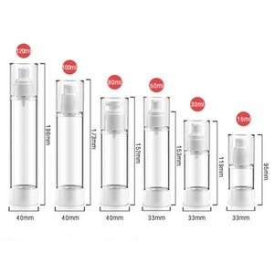 Doldurulabilir Taşınabilir Seyahat Boş Kozmetik Şişe Konteyner Boş Sprey Parfüm Şişesi Şeffaf Gezgin Ambalaj Şişe Losyon Şampuanı