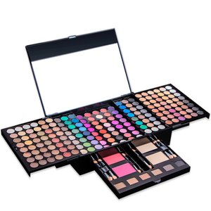 194 colors Earth Pearl light Eyeshadow Pallete Repairing blush eyebrow powder makeup tools Waterproof Lasting Make up