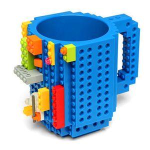 Lego bloque café tasses et tasses mignon Creative Office lait café Tumbler tasse de petit déjeuner à la main bricolage tasses
