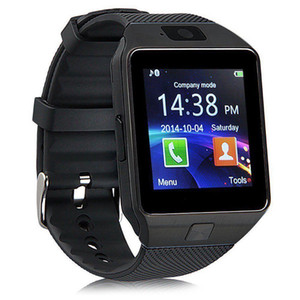 Original DZ09 Smart Watch Bluetooth Smartwatches For Android Smartphones SIM Card Slot NFC Health Watchs for Android with Retail Box