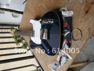 Бесплатная доставка Оптовая высокое качество синий теле гитара telecaster стандартный электрический guitar410