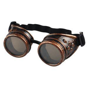 Gafas Steampunk Готические очки Очки Рамка для мужчин, женщин Винтаж Ретро очки Готические очки для мужчин 2018 Ретро очки № 4-5