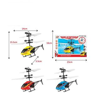 Voar Mini RC Infraed Indução RC helicóptero aeronaves luz intermitente Brinquedos para crianças Brinquedos para crianças brincam e jogos 10 estilos