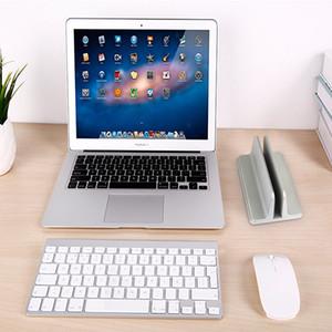 Alumínio Portátil Ajustável Suporte De Refrigeração Titular Notebook Suporte De Armazenamento De Mesa Vertical para Laptop Notebook e Tablet