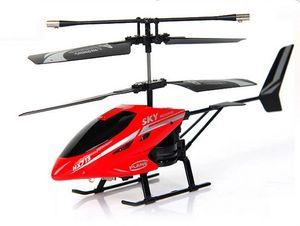 Kanal RC Helikopterler Kapalı Helikopter Gyro Uzaktan Kumanda Helikopter LED Işık Ile RC Oyuncaklar Erkekler / Kız / Yetişkinler için