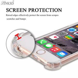 Противоударный прозрачный чехол для Samsung Note8 S8 Plus iPhone X 8 7s 6 S Plus силиконовый мягкий чехол для телефона Силиконовая воздушная подушка