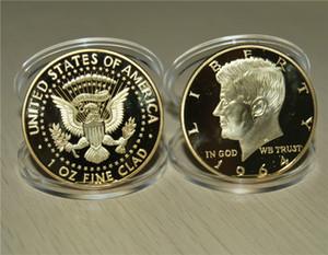 Batterymart 20Pack-Donald Trump Gold Coin 2018 24kt مطلي 45 الرئيس ...