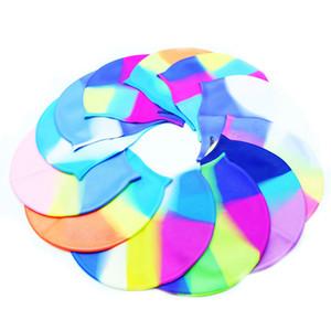 Goma de silicona para niños Gorro de natación Hombres adultos Mujeres Gorros impermeables Sombrero Accesorios de natación Gorros de natación