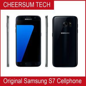 El teléfono móvil original Samsung Galaxy S7 G930A G930T G930P G930V G930F desbloqueado teléfono Octa Core 4 GB / 32 GB 5.1Inch 12MP Reformado Samsung