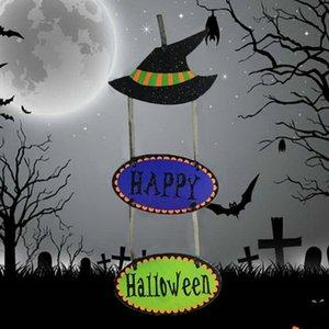 Halloween Funny Spooky 3 종이 펜던트 파티 축제 장식 장식 소품 할로윈 용품 선물 용품 무료 배송