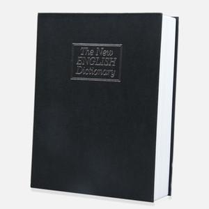 Home Storage Safe Box Dizionario Money Secret Book Cash Jewelry Cassaforte Box Storage Box Organizer con serratura a chiave