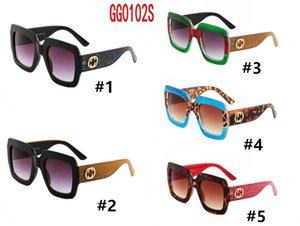 10Pcs brand luxury 0102s with logo sunglasses women oversized frame polygon fashion show style eyewear lady awesome sun glasses