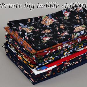 28 couleurs Haute-gamme Sweet Fashion Impression Bubble Pearl Crampons Foulards en gros Foulards de haute qualité Écharpes à bulles Écharpe épaissir dense