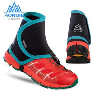 AONIJIE Hommes Femmes Trail guêtres de protection Wrap Couvre-chaussures Paire Plein Air Jogging Marathon Randonnée à vélo