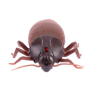 البلاستيك الأشعة تحت الحمراء RC التحكم عن بعد محاكاة مخيف مخيف صرصور مزحة الحشرات نكتة لعب للطفل هدايا