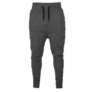 GUMPRUN Automne Mode Joggers Pantalon De Jogging Simple Plaine Hommes Slim Manchette Manches Pantalon Survêtement Pantalon Hommes Coton Crayon Pantalon