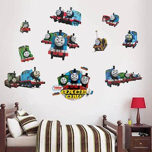 Dessin animé amovible Kids Room Decor Vinyle Thomas Amis Train Gordon Railway Wall Sticker DIY Décalque à la maison