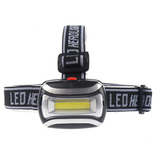 COB LED Headlamp 3 Modes 600LM Headlight Waterproof Flashlight 3x3A Battery Outdoor Head Lamp Camping Hiking Fishing Hunting Light