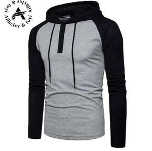 New Plain Mens Zip Up Hoody Chaqueta Sudadera con capucha cremallera masculina Top prendas de vestir exteriores gris negro Boutique hombres envío gratis