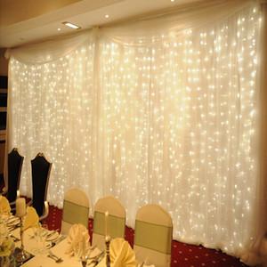 Twinkle Star led guirlande lumineuse 300 LED Fenêtre Rideau String Light Wedding Party Home Garden Chambre Décorations De Mur Intérieur Extérieur