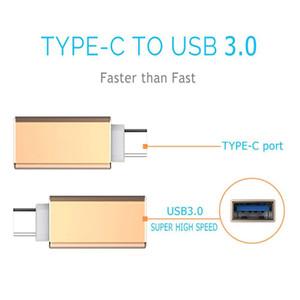 Métal USB Type-C mâle vers USB 3.0 adaptateur de convertisseur femelle OTG chargeur de transfert pour MacBook Letv