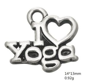 Ben yoga severler için yoga egzersiz takılar om sembolü