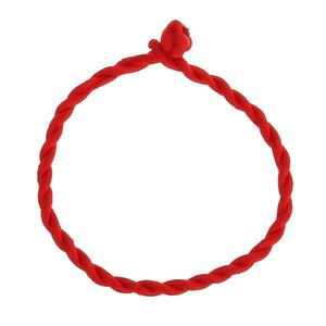 Hot Men Bracelet corde rouge Bracelet bracelet chanceux sur la jambe pour les femmes cordon cordes ligne main Bijoux Couple Amoureux Cadeau