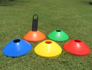19cm Cones Marker Discs Soccer Football Training Dish Pressure Resistant Sports Entertainment Accessories Outdoor Sport Game Toys