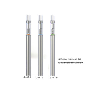 Newest BUD D1 Disposable Electronic Cigarette Wax Oil Vape Pen Ceramic Coil .5ml Empty Cartridge For Thick oil