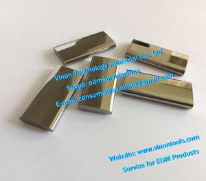 (2 개) X089D256H01 edm MV 전원 공급 장치 접점 M012 (텅스텐 강재) X089D256H02 용 상단 하단 X089-D25-6H01 Mitsubishi DWC-MV1200 MV2400