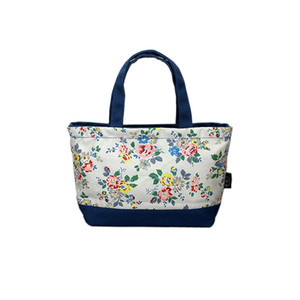 El Nuevo Color Pequeño Lienzo de Algodón Fresco Moda Señoras Cifrado Portátil Mommy Lunch Bags Color Bag