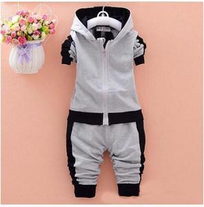 AMN bebek boys giyim setleri çocuk sonbahar kış giyim pamuk rahat eşofman çocuk giysileri spor takım elbise sıcak