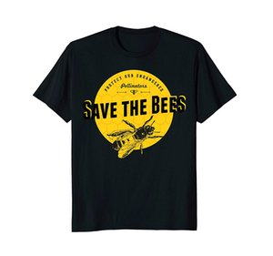 T-shirt Save The Bees - Salva la nostra maglietta degli impollinatori a rischio