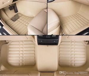 CHigh quality car floor mats for Land Rover Discovery 3 4 Sport freelander 2 Sport Range Rover Sport Evoque 3D carpet floor liner