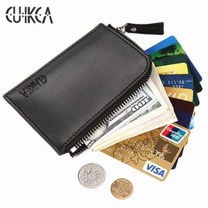 CUIKCA Nouvelle Mode Femmes Hommes Portefeuille Semi-circulaire Portefeuille Créatif Ultrathin Zipper Coin Portefeuille Bourse ID Carte Titulaire Carte Cas 100