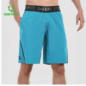 Vansydical Sports Shorts Mens Running Gym Shorts hasta la rodilla Basketball Jogging Shorts
