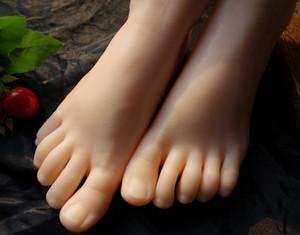 Mannequin de pied de mannequin de pied réaliste en silicone à la mode en promotion