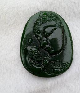 China Xinjiang deusa jade Hotan de misericórdia, paz e pingente com N2 frete grátis