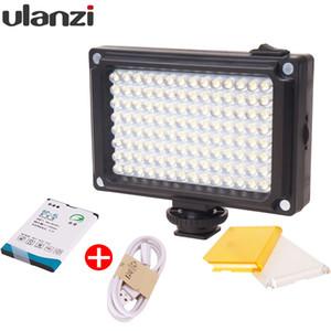Toptan 112 Mini LED Video Bi-Renkli Fotoğraf Işık Kamera DV Kamera için Işık Filtreler ile Youtube Vloging Düğün için