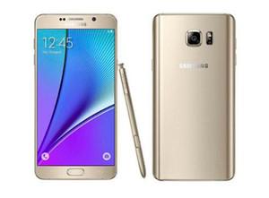 Samsung Galaxy Note 5 N920A N920T N920P N920V N920F окта Ядро 4GB / 32GB 5,7-дюймовый 2560 х 1440 Восстановленное сотовый телефон