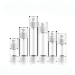 15ml 30ml 50ml 80ml 100ml 120ml Acrylic Empty Sprayer Lotion Pump Perfume Bottle Refillable Lotion Fragrance Containers Bottles Fast Ship