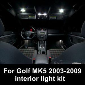 Shinman 12pcs error libre lámpara de lectura accesorios de luz interior del coche para volkswagen VW Golf / GTI MK5 2003-2009