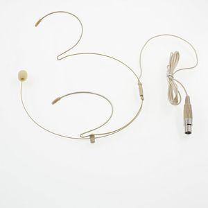 Microphone de casque Headworn à condensateur avec connecteur mini 4 broches XLR TA4F pour transmetteur de corps sans fil PGX14 SLX14