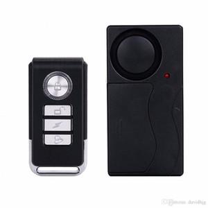 Yeni Pratik Kablosuz Uzaktan Kumanda Titreşim Alarm Sensörü Kapı Pencere Araba Ev Ev Güvenlik Sensörü Dedektörü