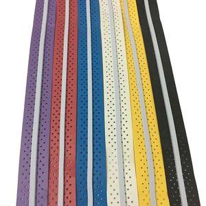 2 Pçs / lote Ténis Aperto Fita Anti Slip Aderência Badminton Overgrip Raquete De Tênis Envoltório Sweatband Sobre a Banda Para O Instrutor